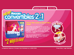 Huggies Convertibles